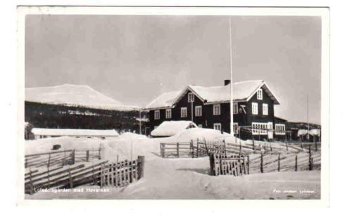 Hoverken & Lofsdalsgården 1956