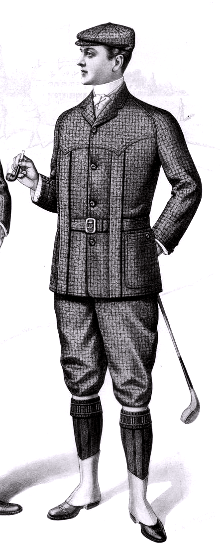 1901_Sartorial_Arts_Journal_Fashion_Plate_Men's_Norfolk_Jacket