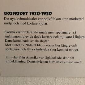 1920-30 Skomodet