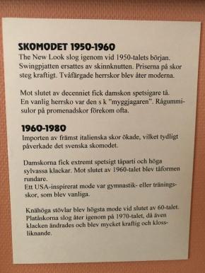 1950-80 Skomodet