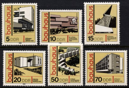 Bauhaus DDR 1980
