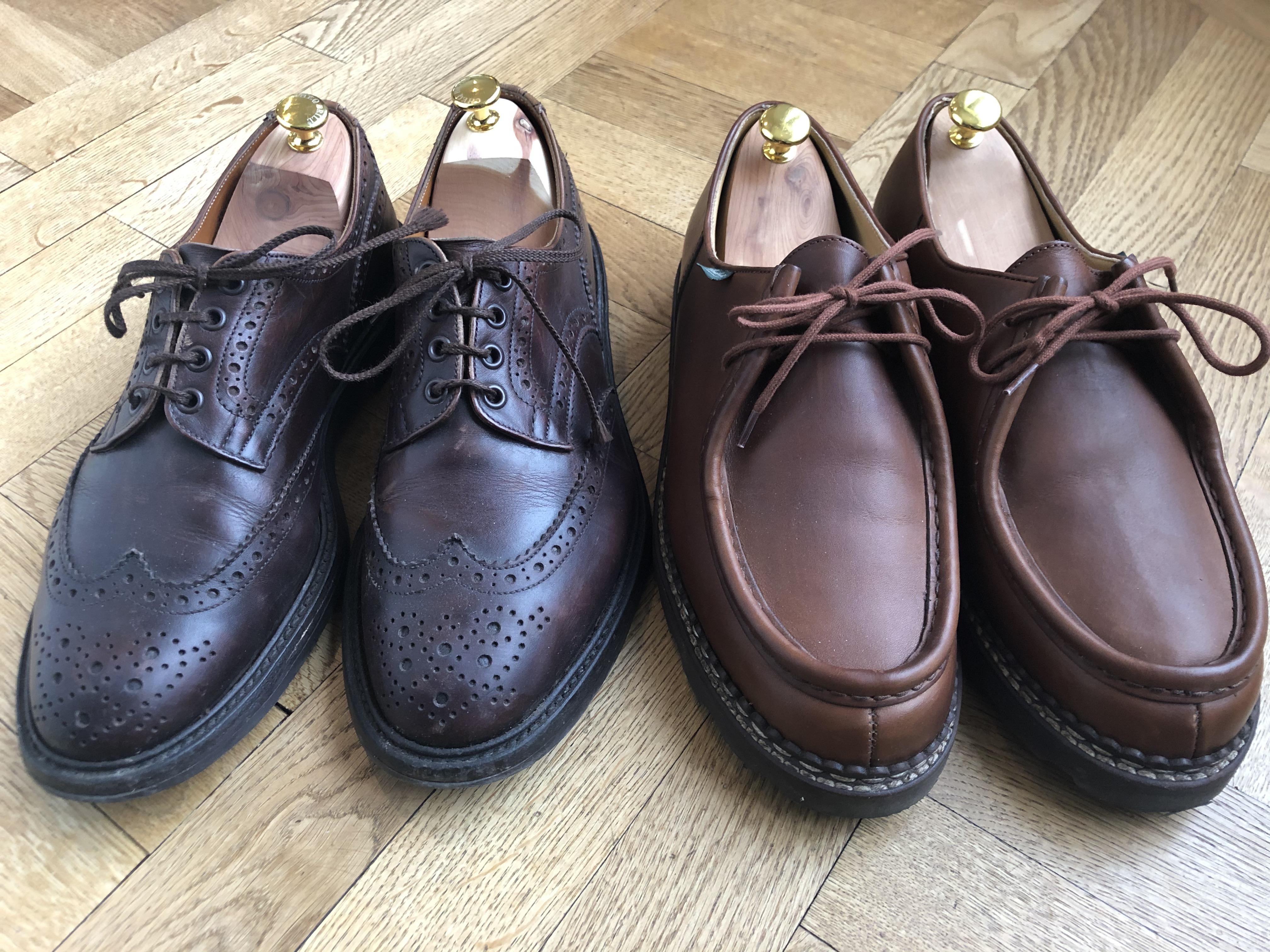 Vintagemannens skor