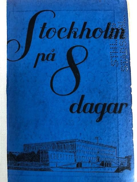 Ellen Rydelius Stockholm 1930 (1)