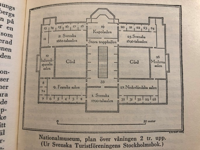 Nationalmuseum karta
